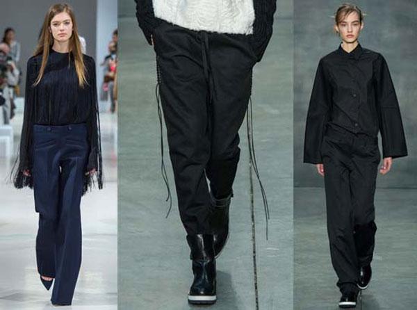 Модные андрогенные брюки осень-зима 2015-2016