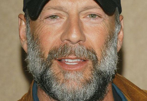 Брюс Уиллис с бородой -фото