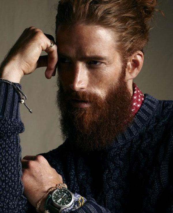 Стильная борода - фото