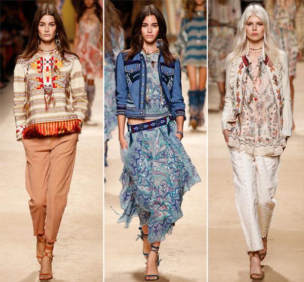 Этнические блузки зима-осень
