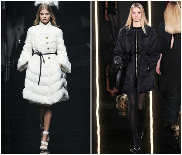 Модные женские пуховики зима 2015-2016, при этом позволяют девушкам выглядеть стильно и чувствовать себя
