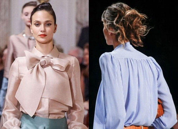 Идеи кутюрье для создания блузок
