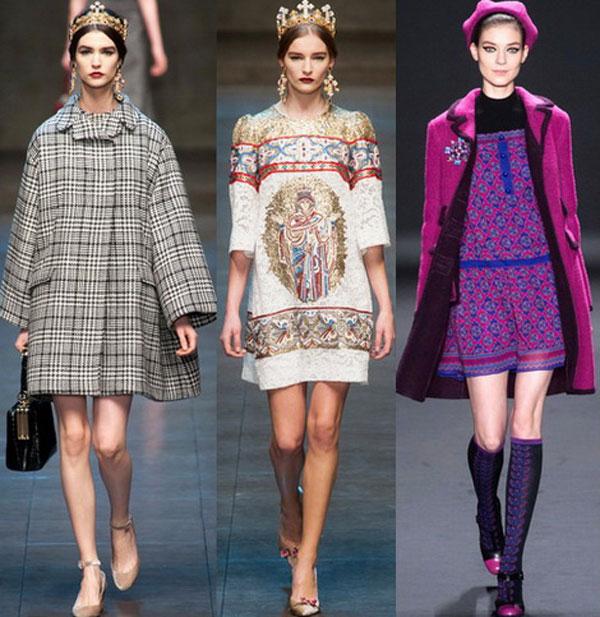 Модные принты осень-зима 2015-2016