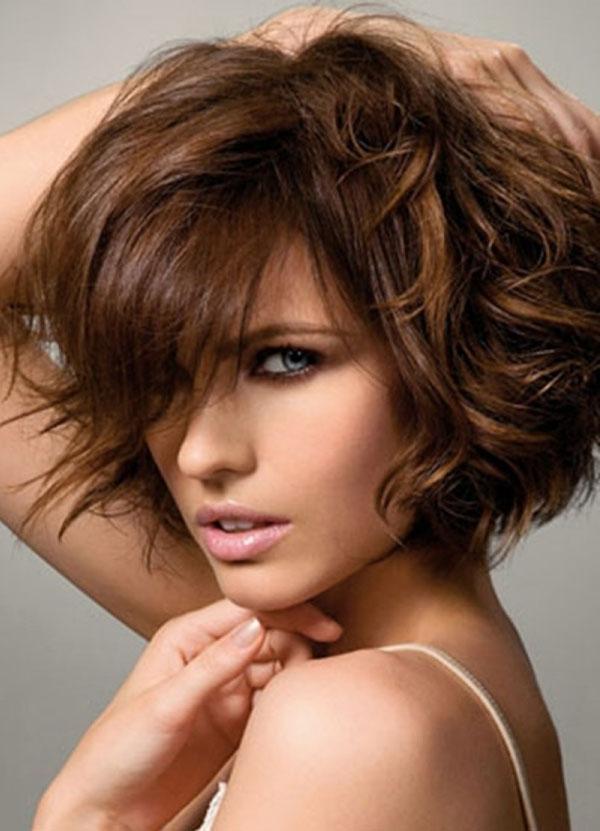 Укладка коротких волос стрижка каскад фото