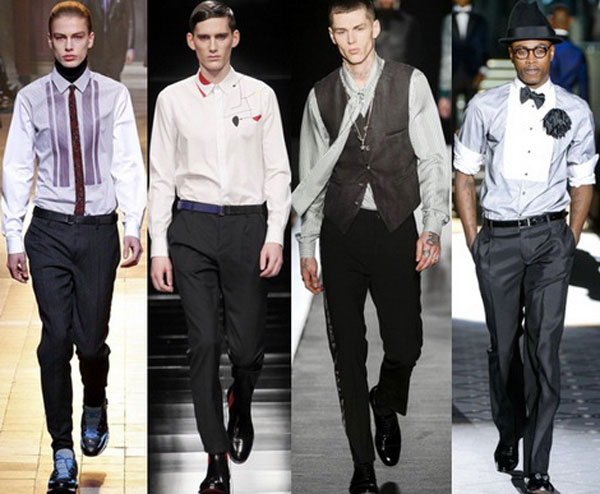 Классические мужские рубашки осень-зима 2015-2016