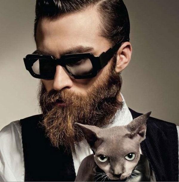 Современный мужчина с бородой