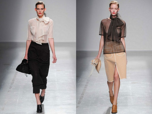 Модные блузки сезона осень-зима