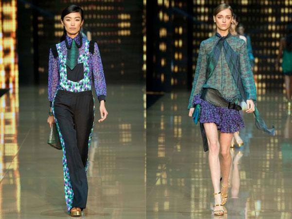Модные принты блузок осень-зима 2015-2016