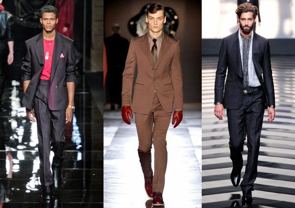 Приталенные мужские пиджаки