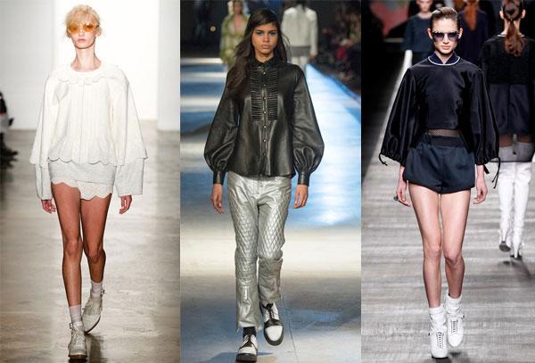 Цельнокройные блузки 2015-2016
