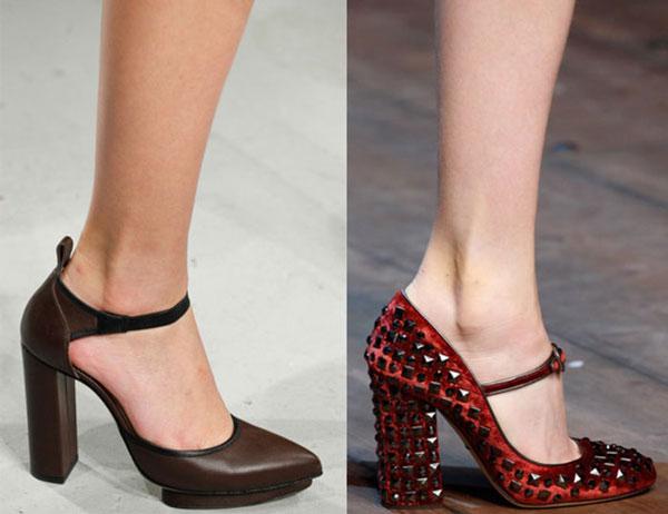 Туфли на каблуках 2015