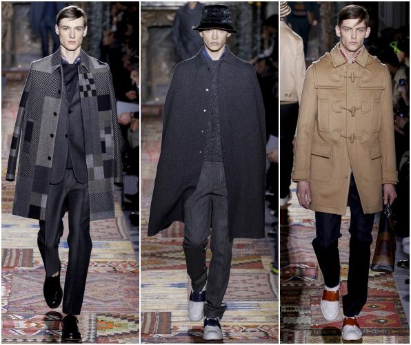 Модные мужские пальто в стиле кэжуал
