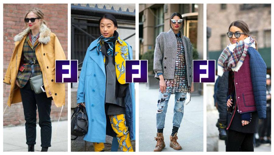 Модные уличные тренды 2015-2016, многослойность