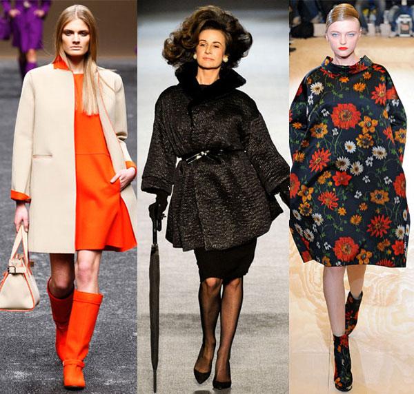 60-е в модных коллекциях осень-зима 2015-2016