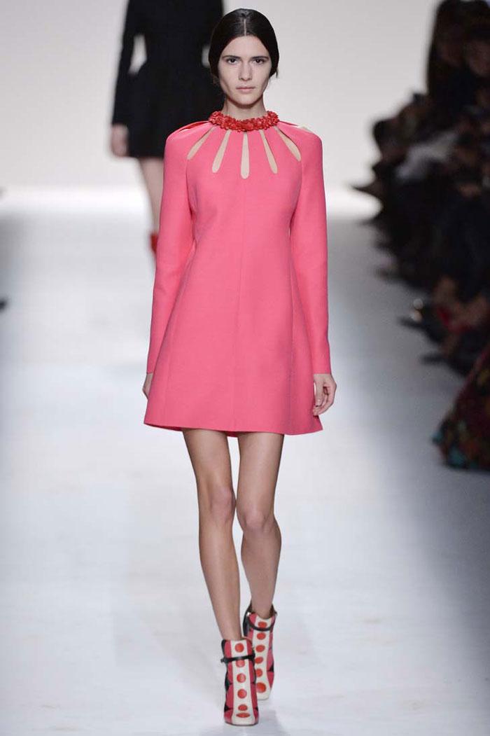 Модные платья в стиле 60-х осень-зима 2015-2016