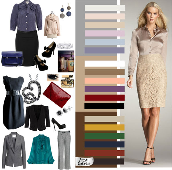 Основные характеристики цветов в одежде