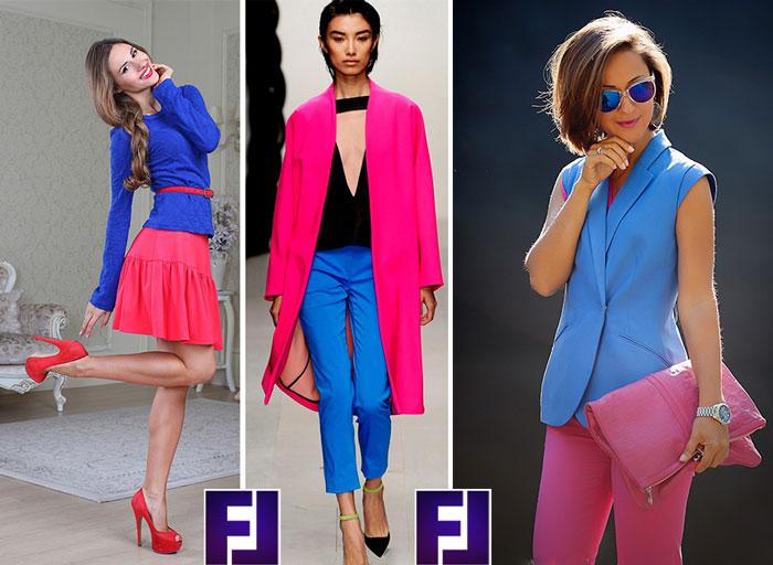 Розовый цвет в одежде и его сочетания