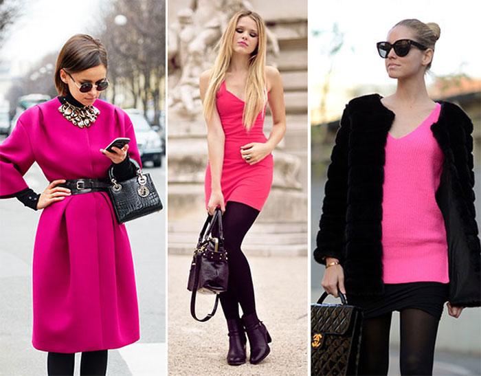 С чем носить розовый цвет?