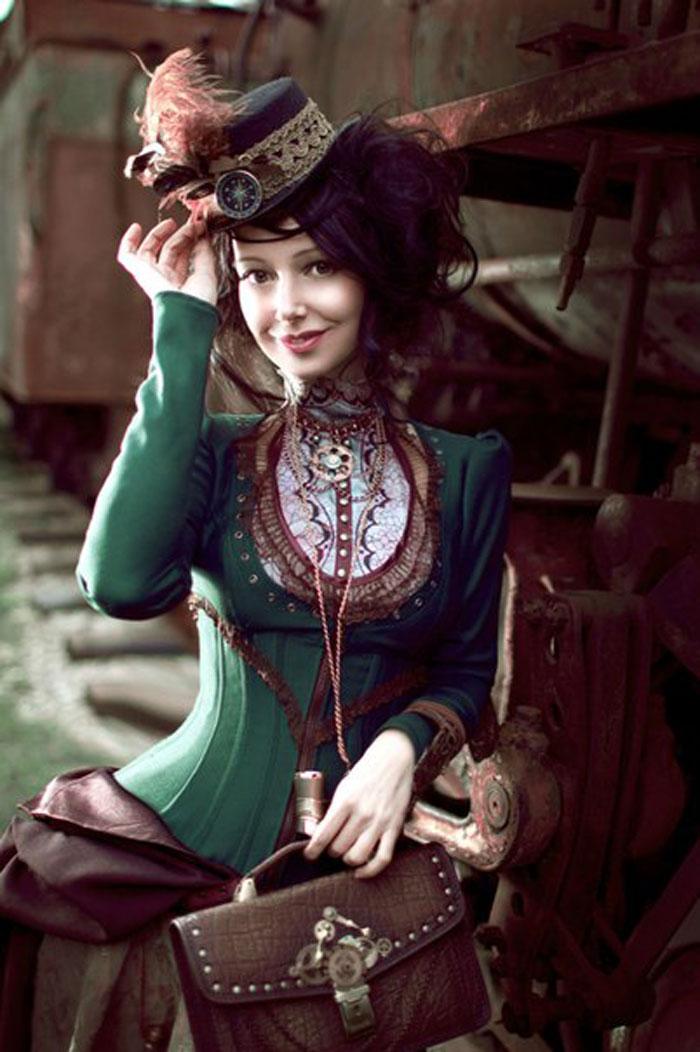 Стимпанк одежда женская
