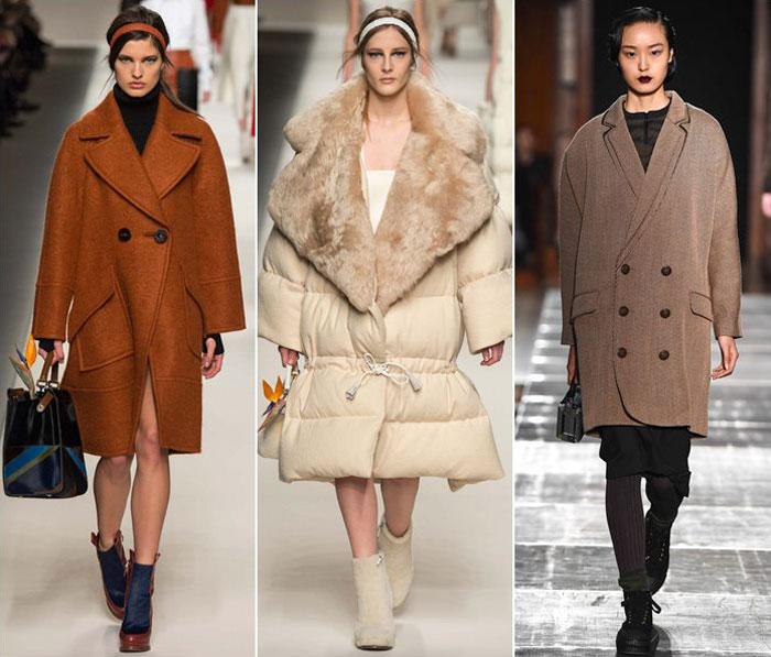 Стиль oversize в модных коллекциях осень-зима 2015-2016