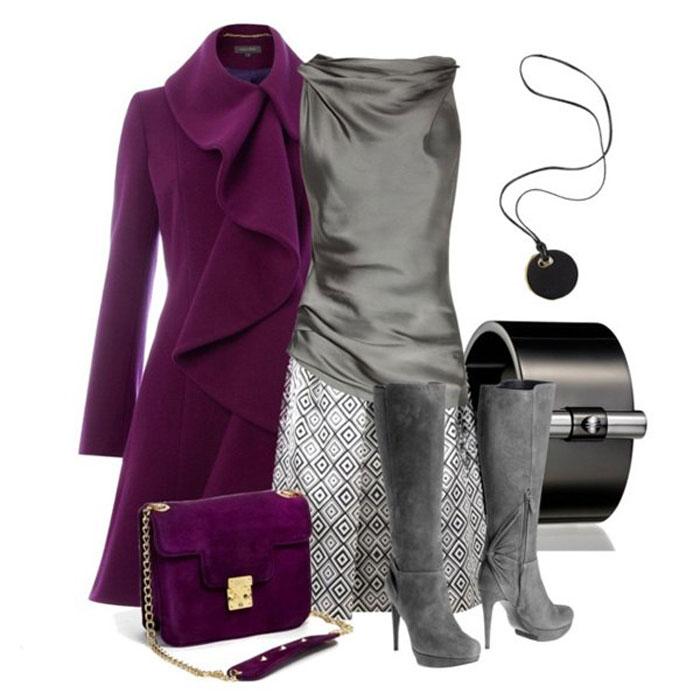 Фиолетовая мода