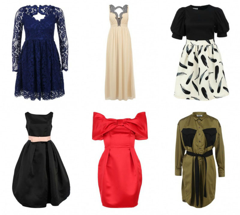 Идеальные платья для обладательниц фигуры-груши