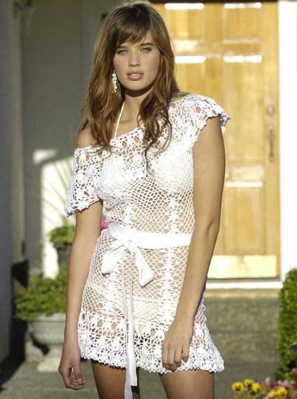 Как подобрать летнее вязанное платье