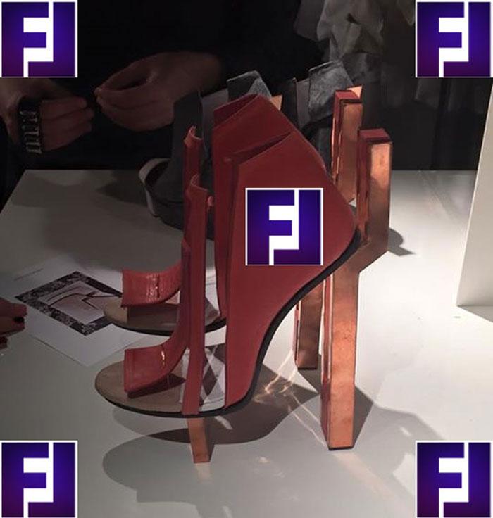 Неделя моды в Париже, обувь Джузеппе Занотти