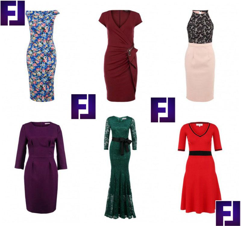 """Как выбрать платье девушкам с фигурой """"песочные часы"""""""