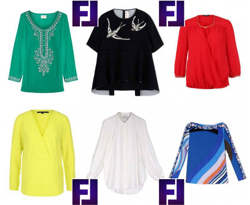 Правильные блузы для женщин с широкой талией