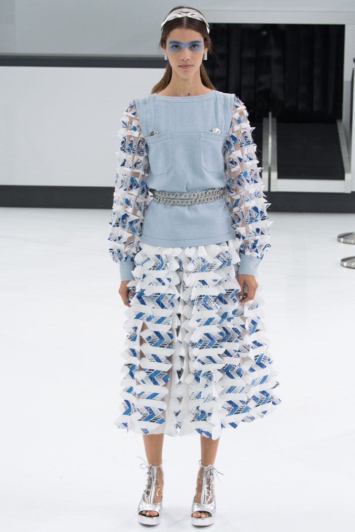 Детали отделки платьев весна-лето 2016