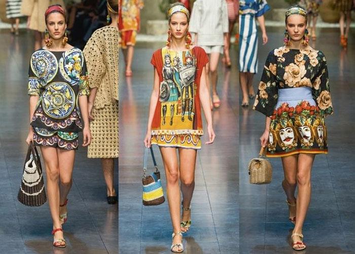 Этнические мотивы юбки