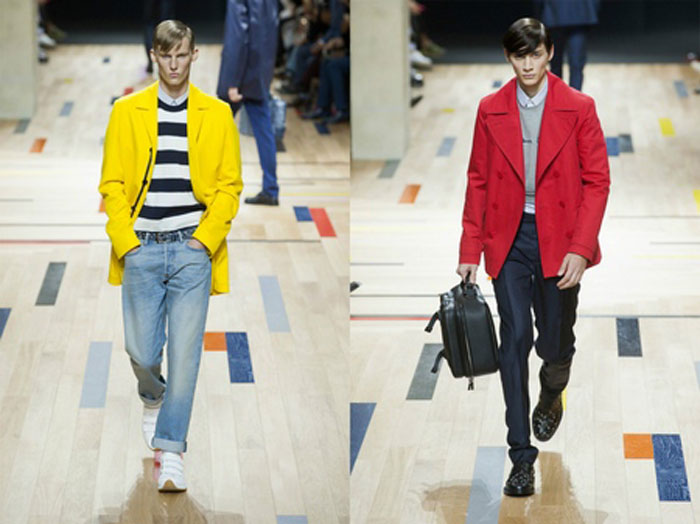 Модные цвета верхней мужской одежды 2016