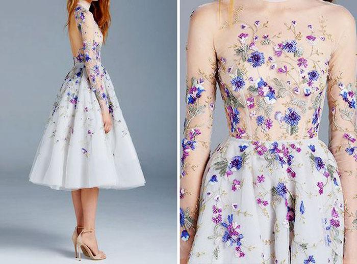 Модные голые платья весна-лето 2016
