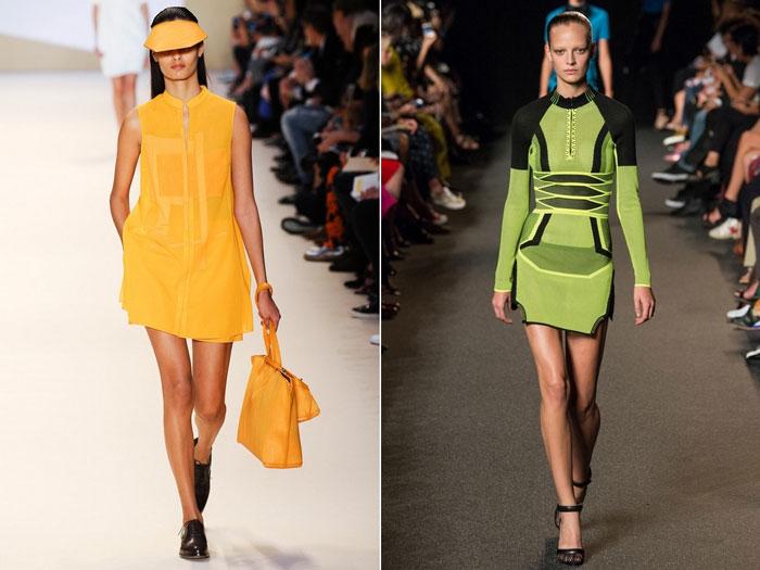 Модные спортивные платья весна-лето 2016