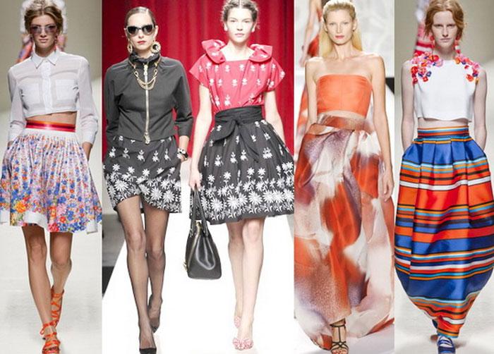 Ткани юбки 2016