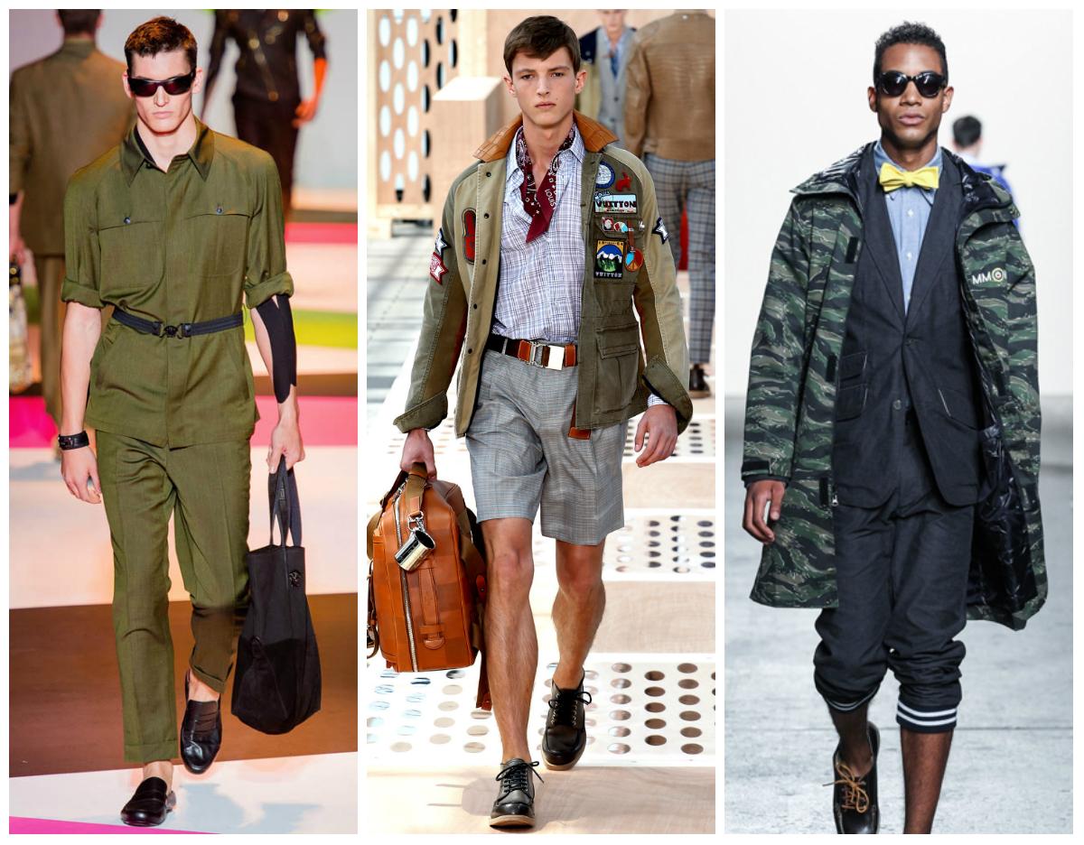 Модный тренд весна-лето 2016, стиль милитари