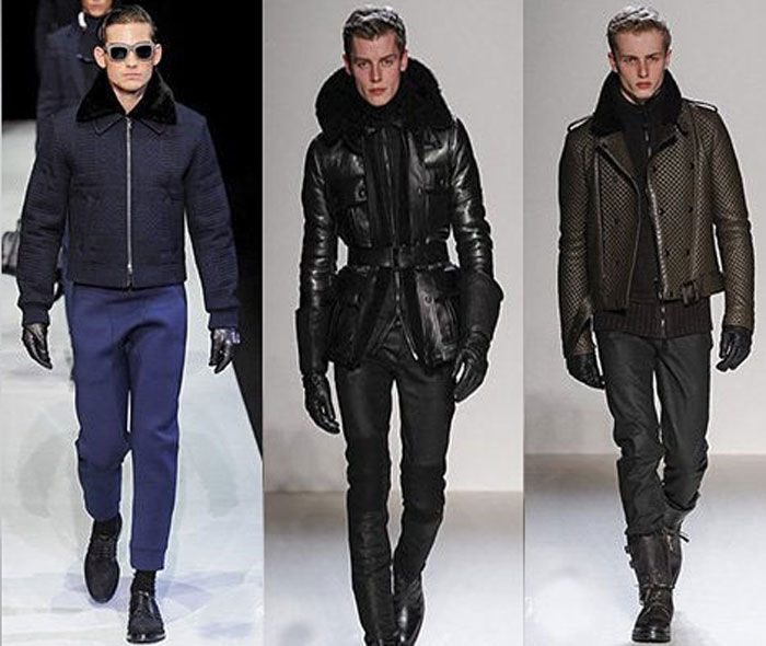 Модная мужская одежда на весну с декором 2016