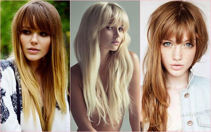 какие прически модные в 2014 году на длинные волосы