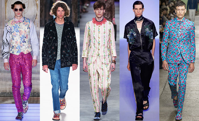 Тенденции мужской моды весна-лето 2016