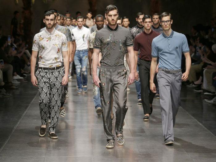 Тренд весна-лето 2016, просторные мужские брюки