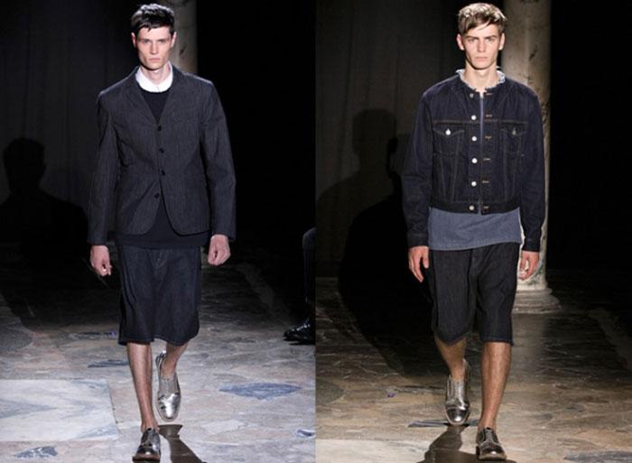 Тренд мужские куртки из денима весна-лето 2016