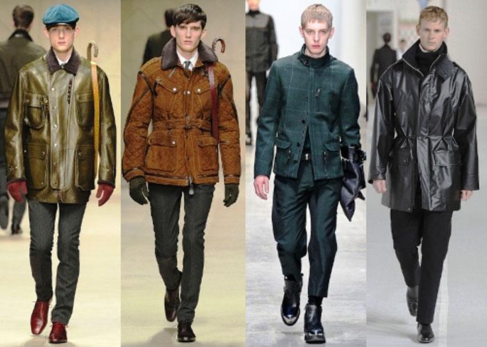 Силуэт кожаные куртки