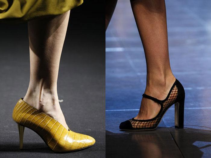 Актуальные модели туфель весна-лето 2016