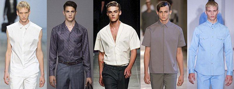 Модные хлопковый мужские рубашки 2016