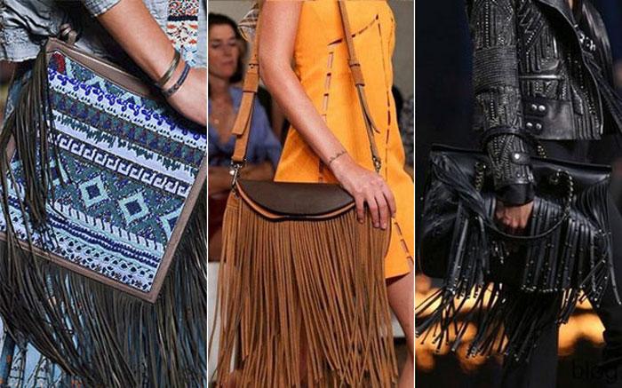 Модные сумки с бахрамой весна-лето 2016