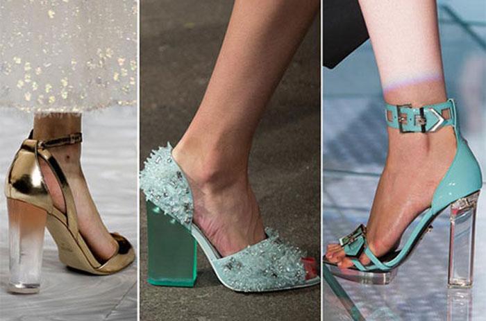 Модные туфли на квадратном каблуке весна-лето 2016