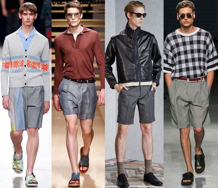 Модная длина и ширина шорт 2016