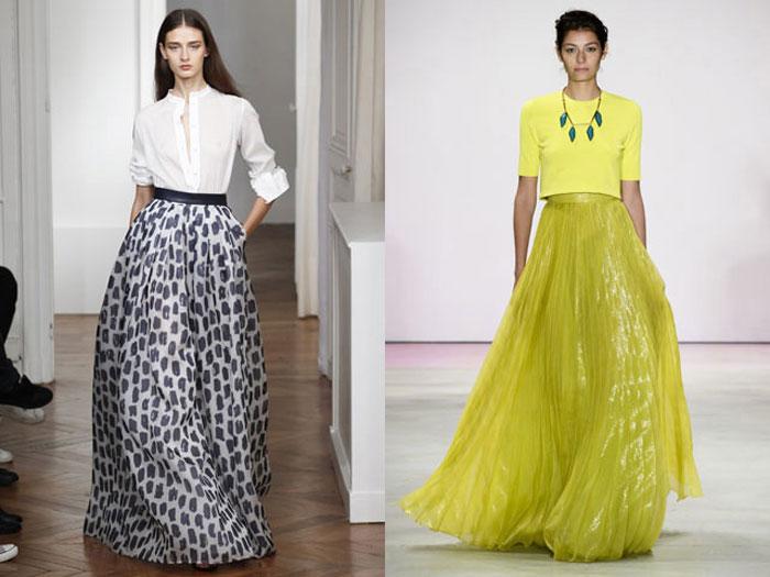 Модные Ли Етим Летом Платья В Пол