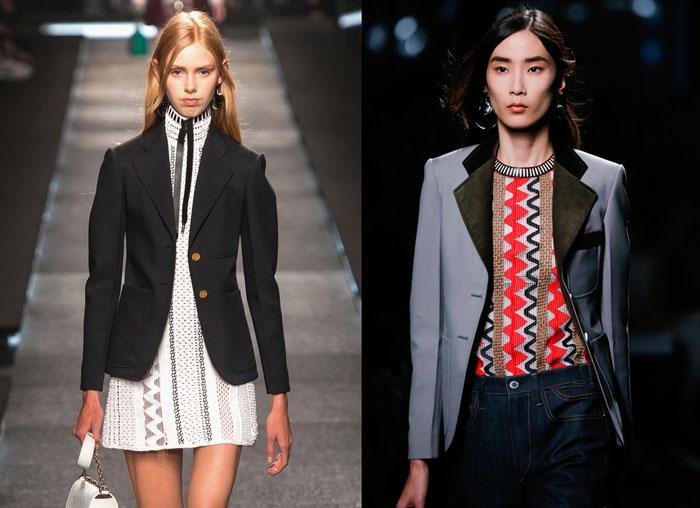 Модные классические пиджаки весна-лето 2016